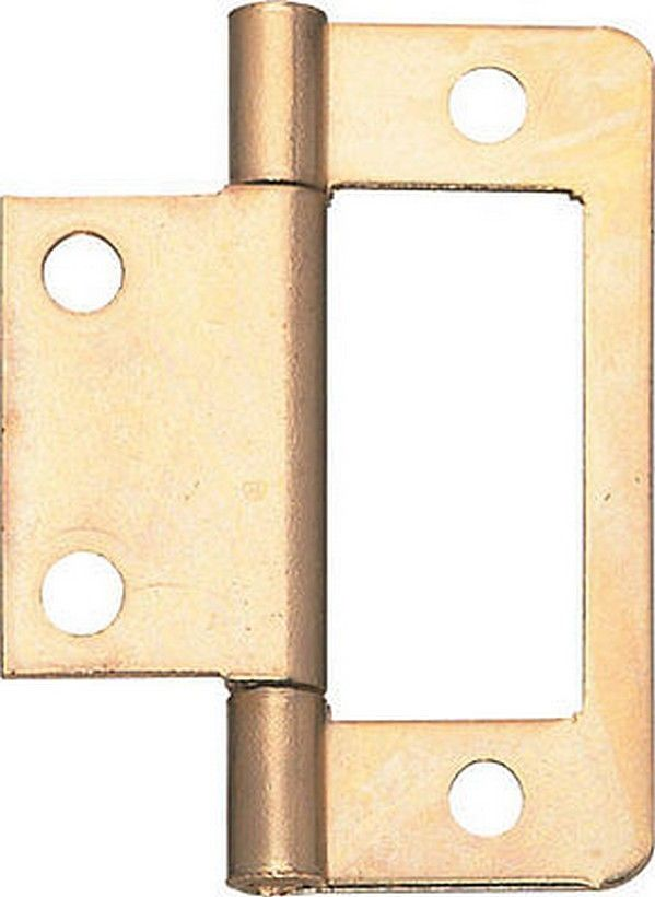 Pack Of 4 New Flush Cupboard Hinges 50mm Cabinet Furniture